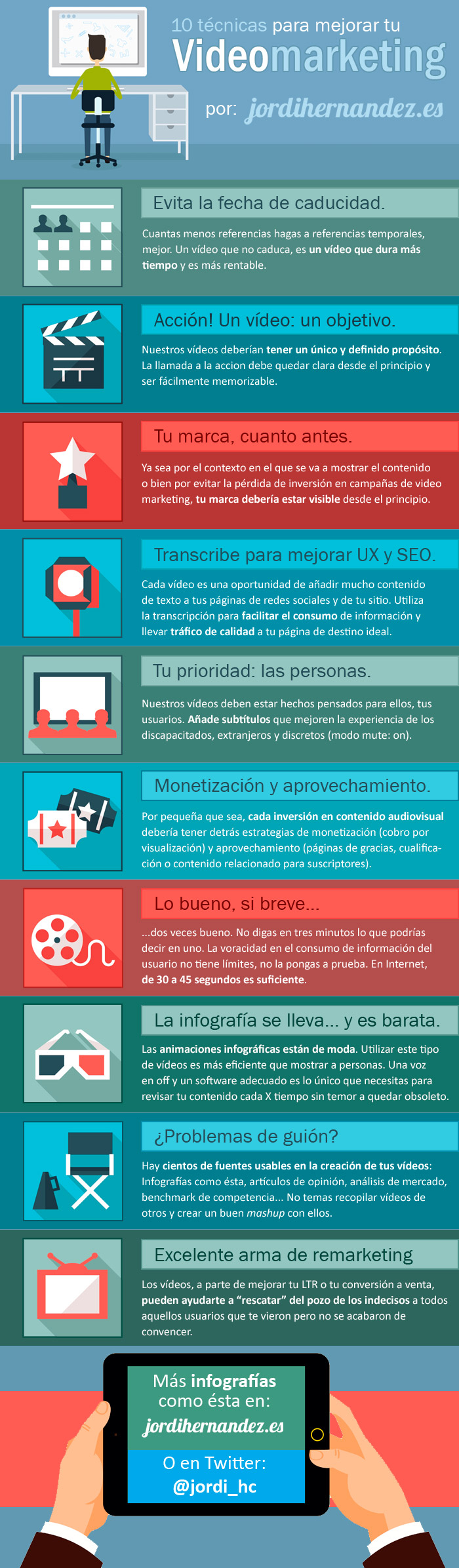 10 formas de optimizar tus campañas de vídeo marketing