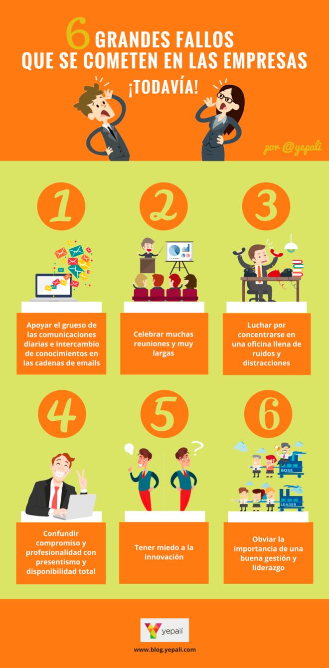 6 errores que cometen las empresas ¡todavía!