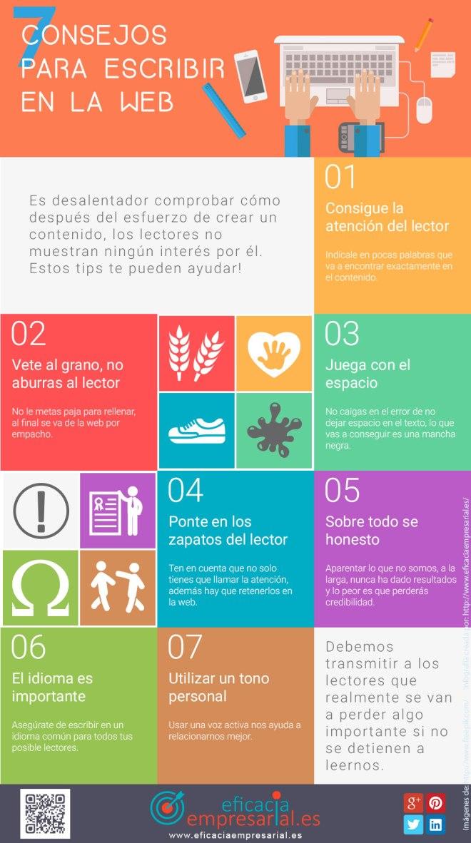 7 consejos para escribir en la web