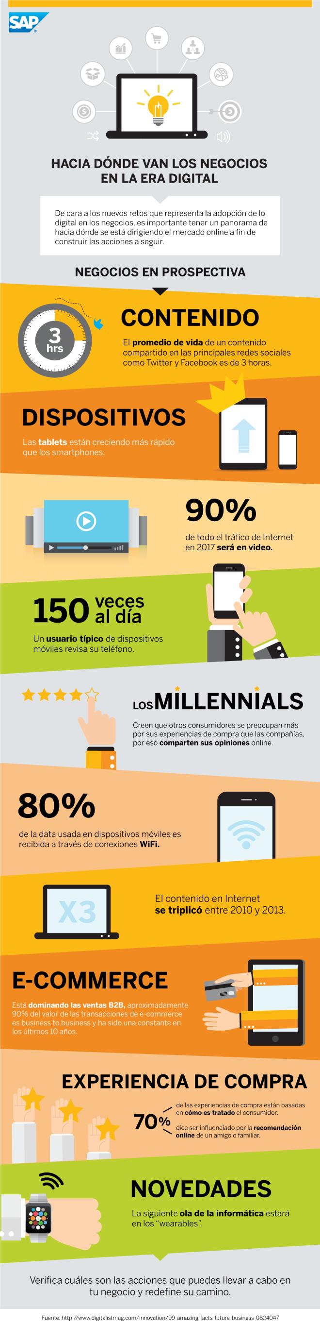 Hacia donde van los negocios en la Era Digital