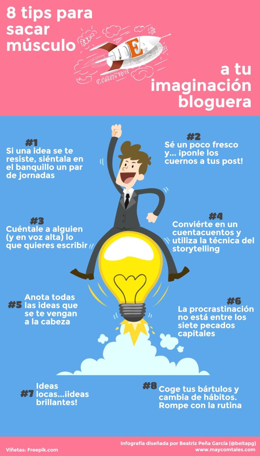 8 consejos para tu imaginación bloguera