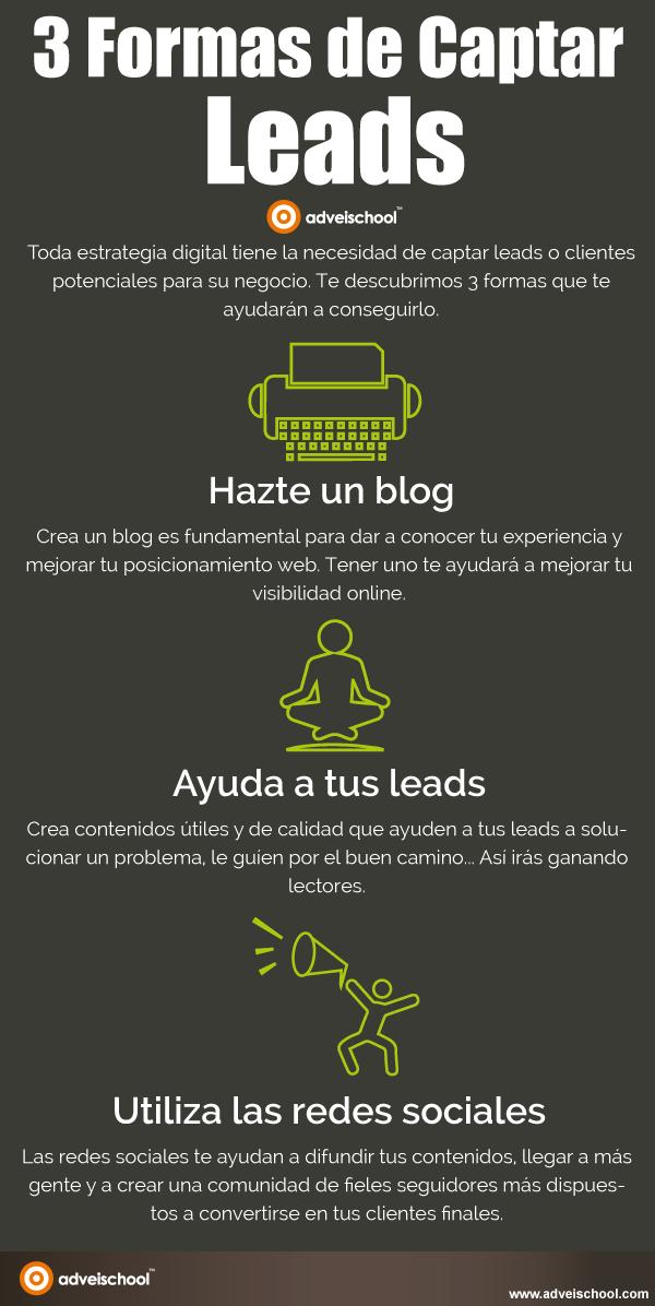 3 formas de captar Leads