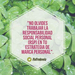 Responsabilidad Social Personal (RSP)