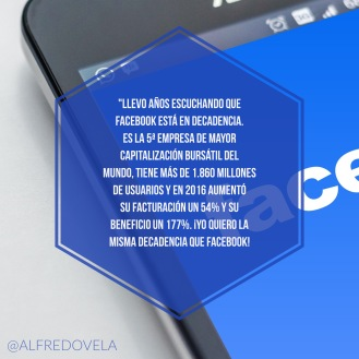 ¿Facebook en decadencia?