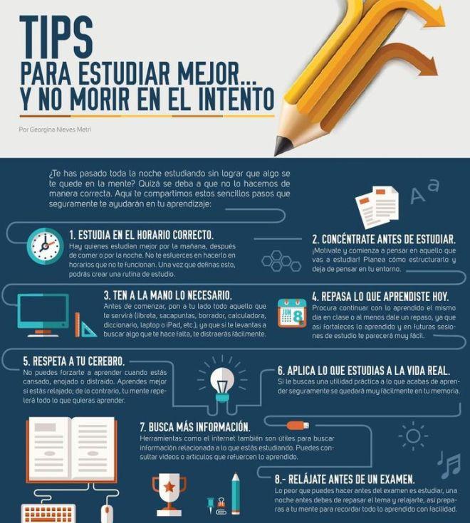 Consejos para estudiar mejor