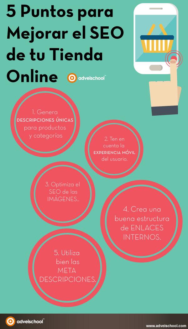 5 puntos para mejorar el SEO de tu tienda online