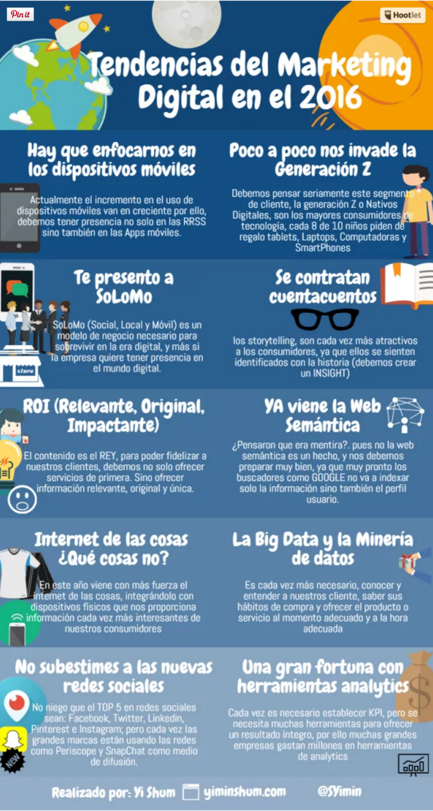 Tendencias sobre Marketing Digital para 2016