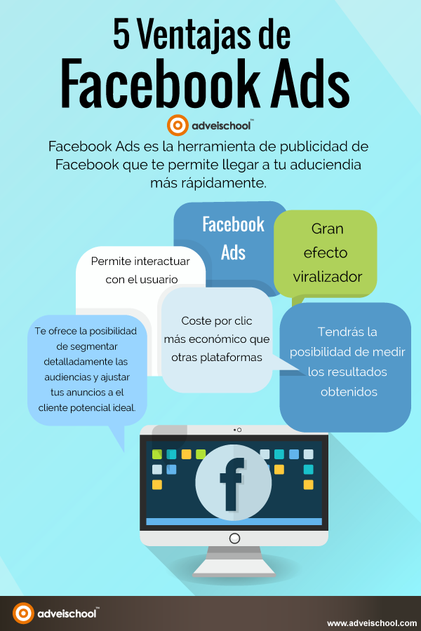 5 Ventajas de Facebook Ads