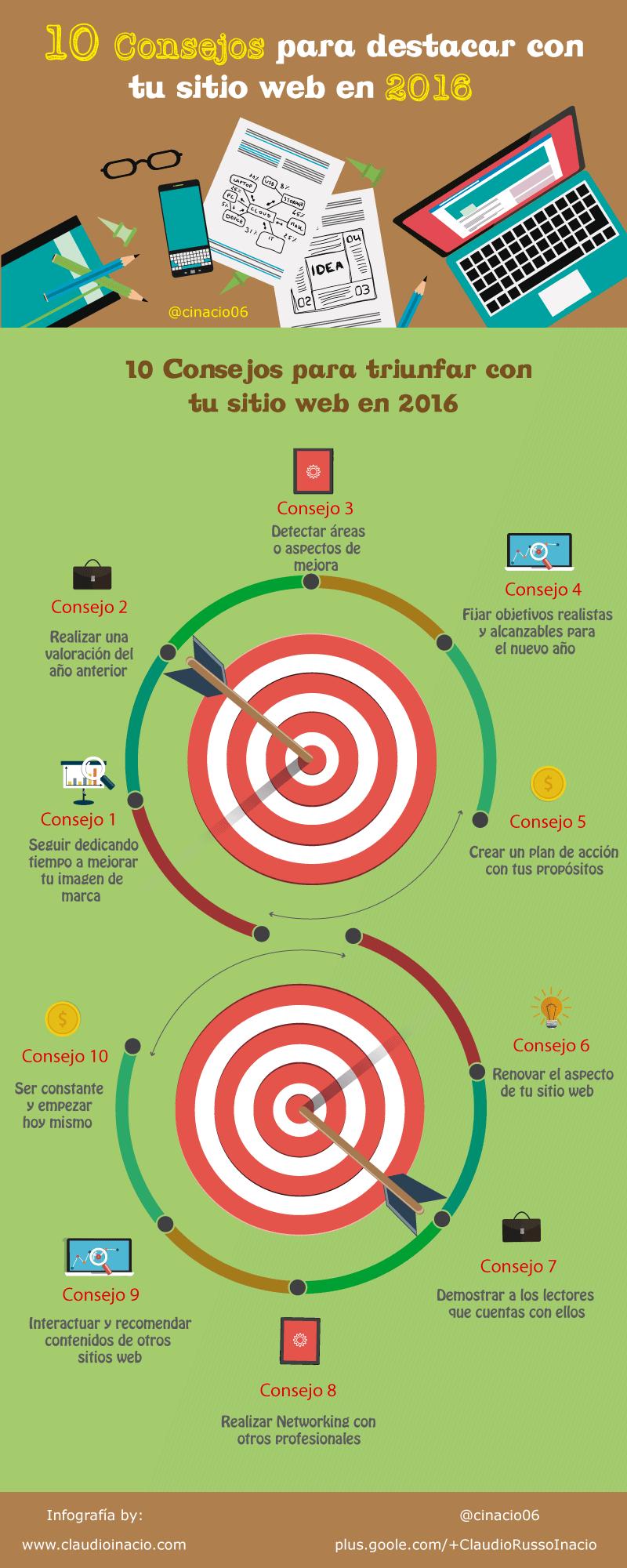 10 consejos para destacar con tu web