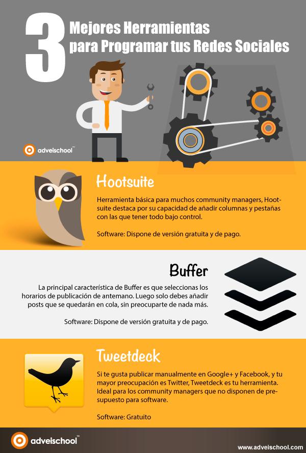 3 mejores herramientas para programar Redes Sociales