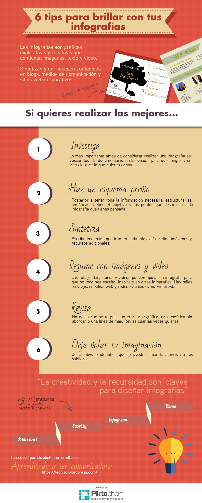 6 claves para brillar con tus infografías