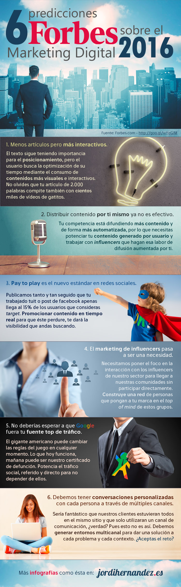 6 predicciones de Forbes sobre Marketing Digital para 2016