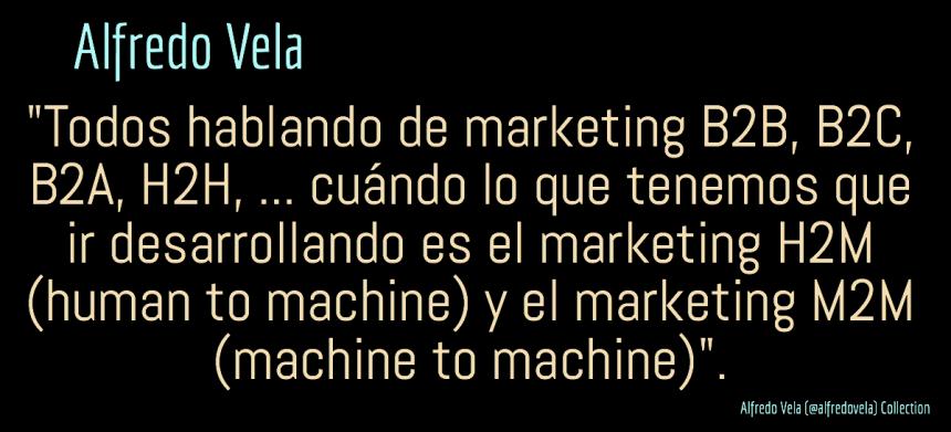 Marketing H2M (human to machine) y M2M (machine to machine) ¿el futuro?