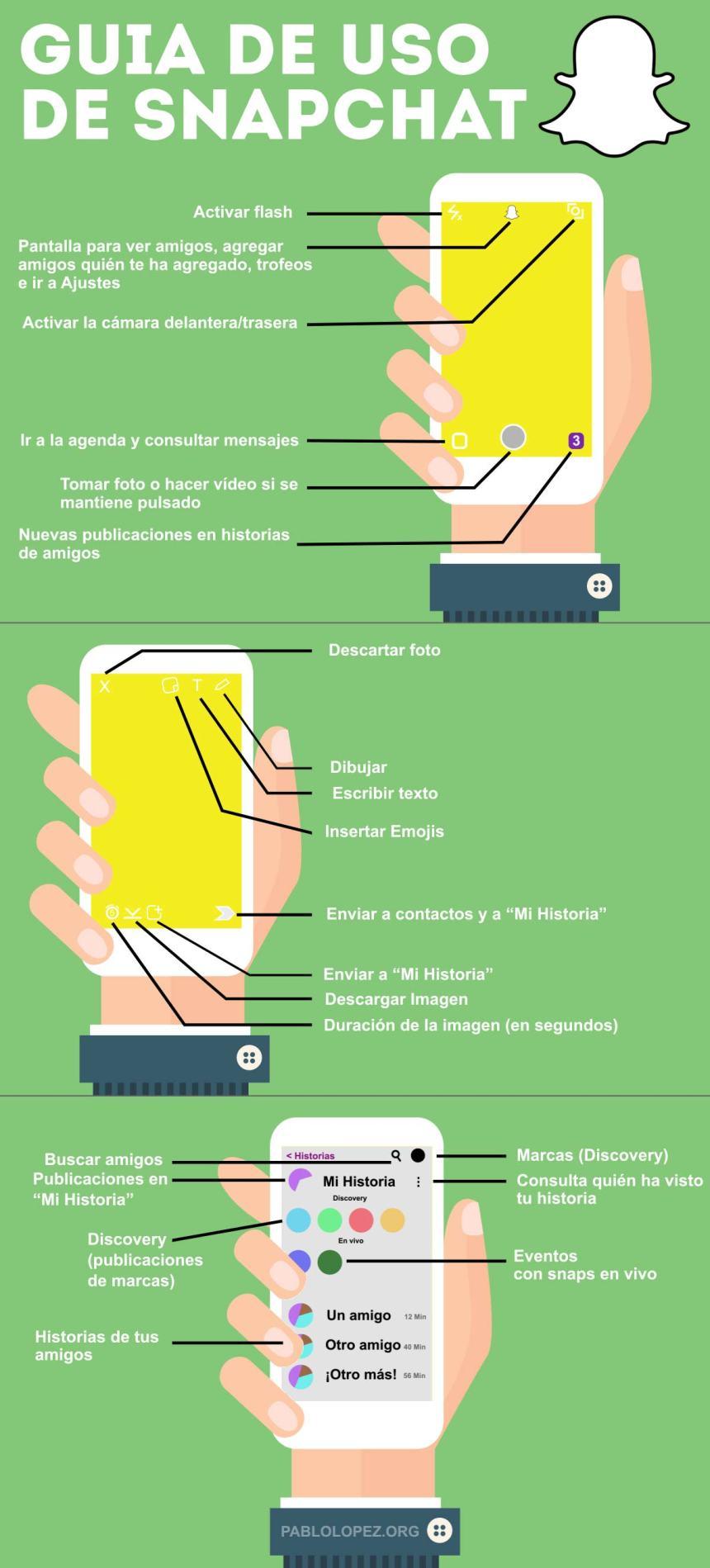 Guía de uso de SnapChat