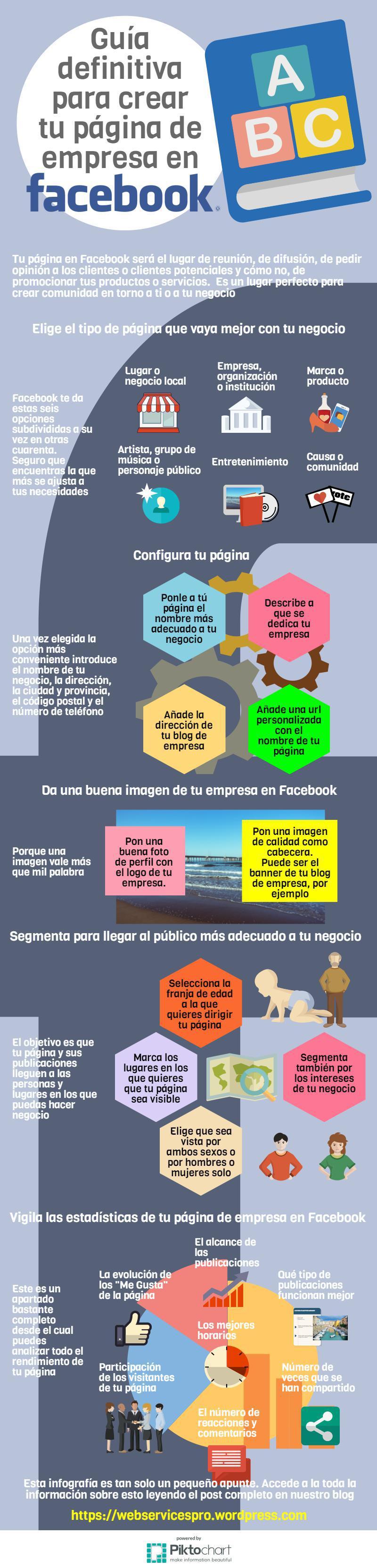 Guía para crear tu página de empresa en Facebook