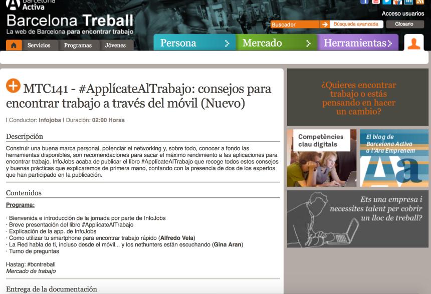 #ApplícateAlTrabajo: consejos para encontrar trabajo a través del móvil