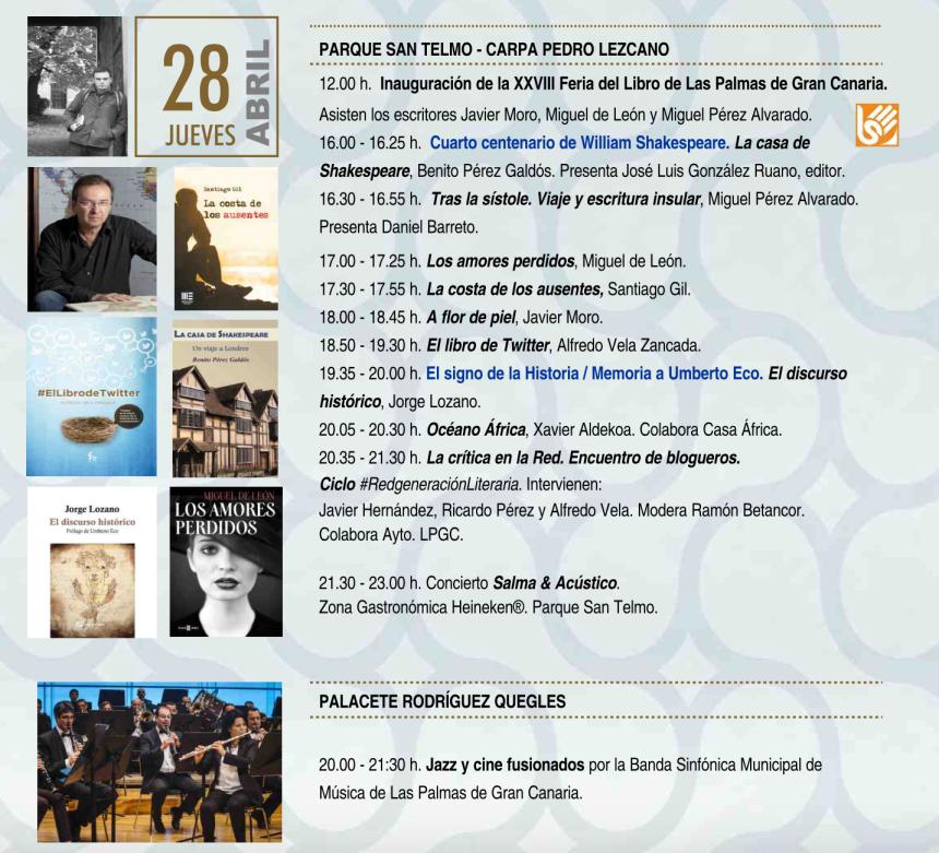 Feria del Libro de las Palmas de Gran Canaria