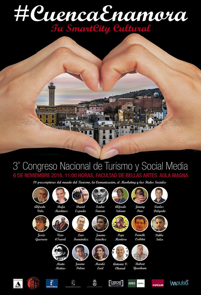 #CuencaEnamora y 3º Congreso Nacional de Turismo y Social Media
