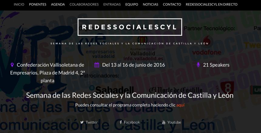 VII Semana de las Redes Sociales de Castilla y León