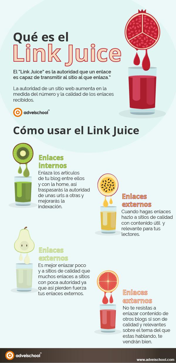 Qué es el Link Juice