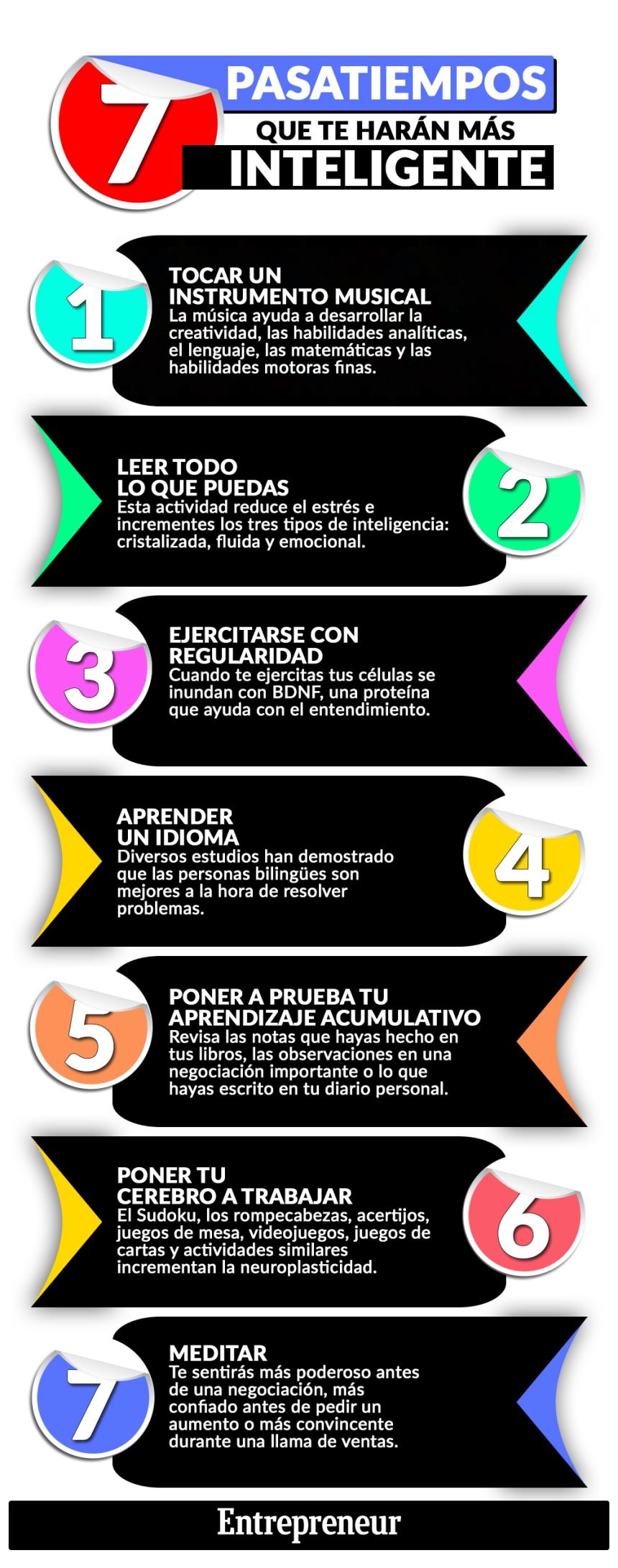 7 pasatiempos que te harán más inteligente