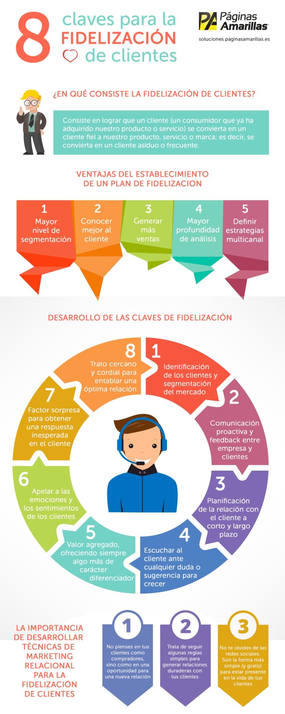 8 claves para la fidelización de tus clientes