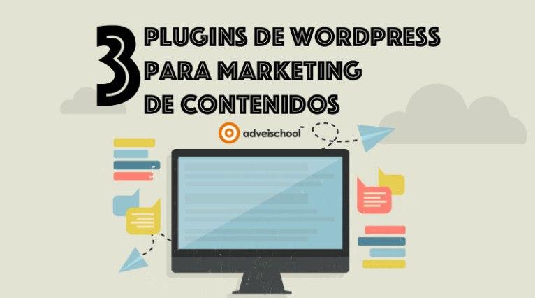 3 plugins sobre marketing de contenidos para WordPress