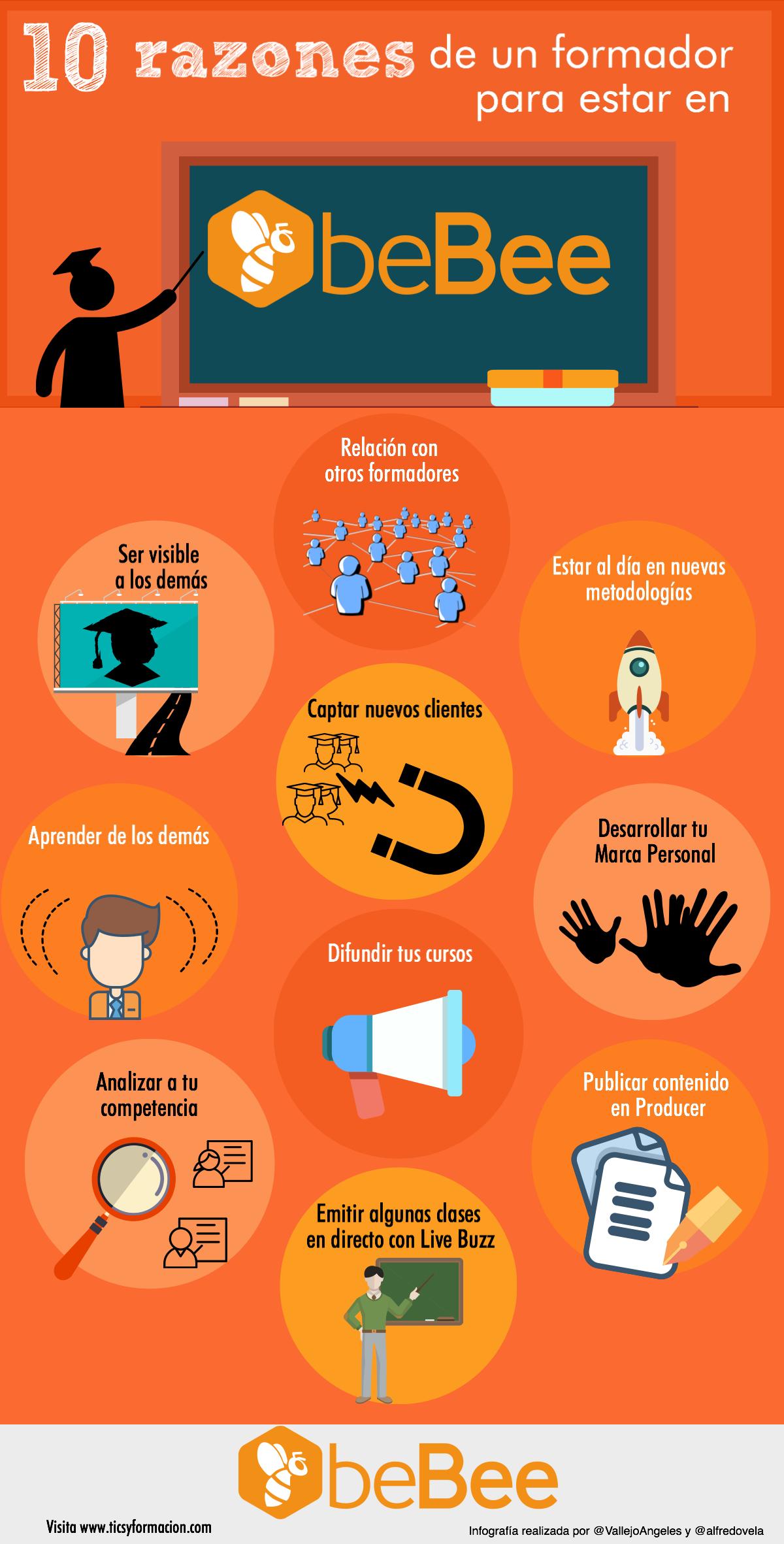 10 razones de un formador para estar en beBee