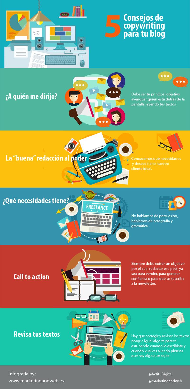 5 consejos de copywriting para tu Blog