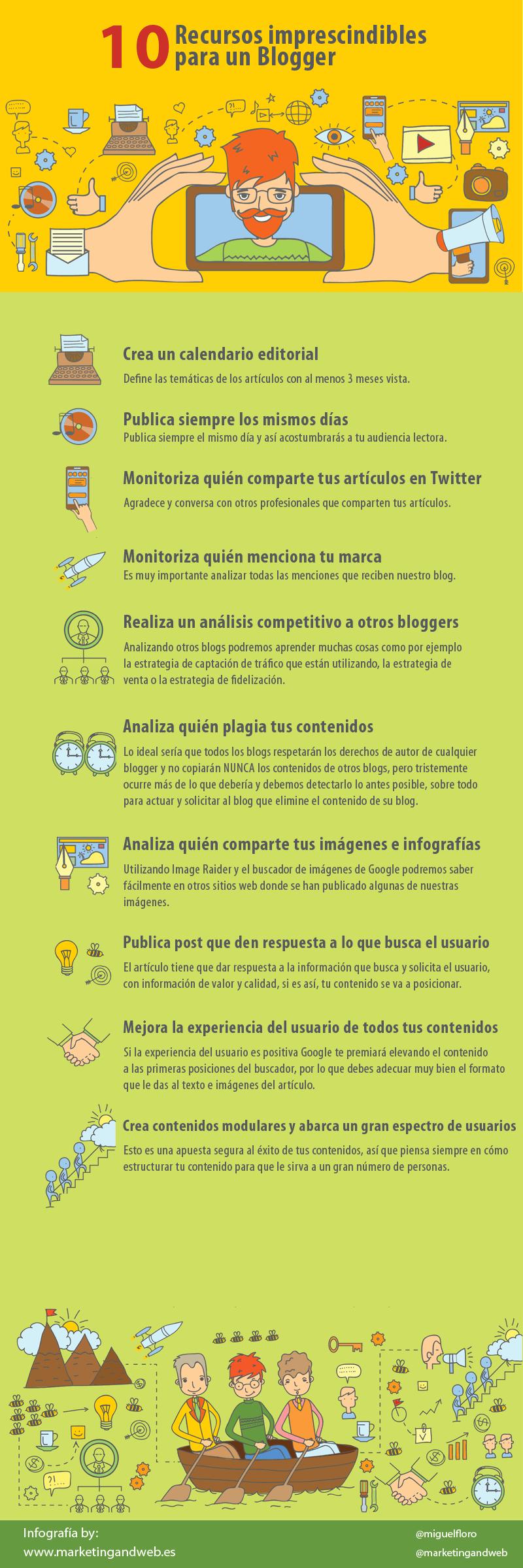 10-recursos-imprescindibles-blogger-infografia