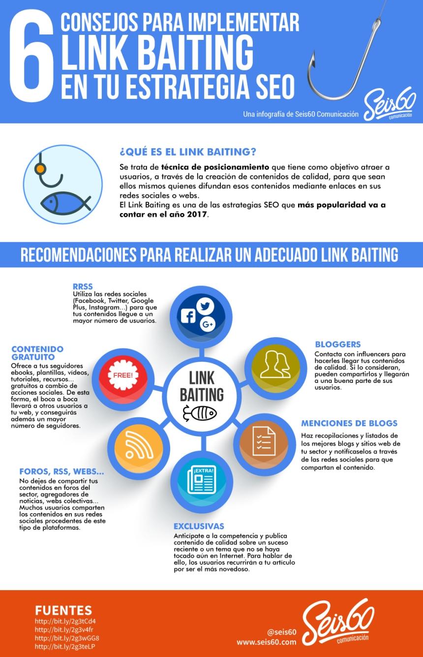 6 consejos para implementar Link Baiting en tu estrategia SEO