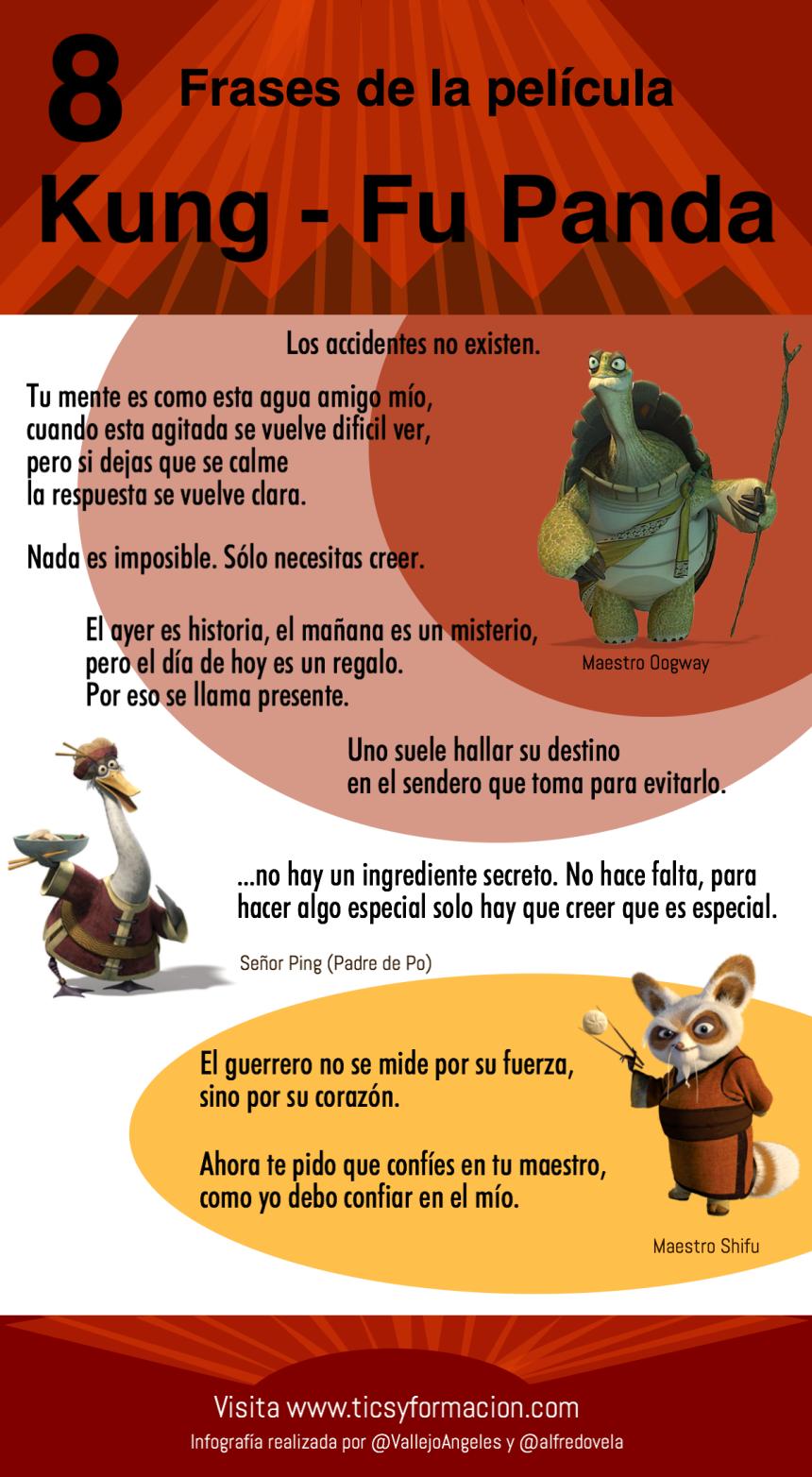 8 frases de las película Kung-Fu Panda