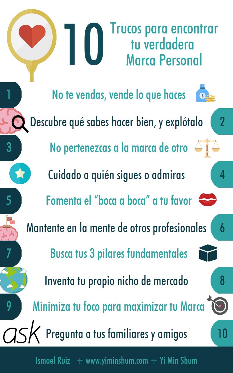 10 trucos para encontrar tu verdadera Marca Personal