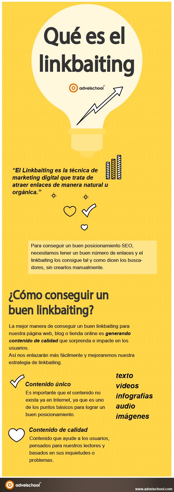 Qué es el Linkbaiting