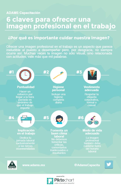 6 claves para ofrecer una imagen profesional en el trabajo