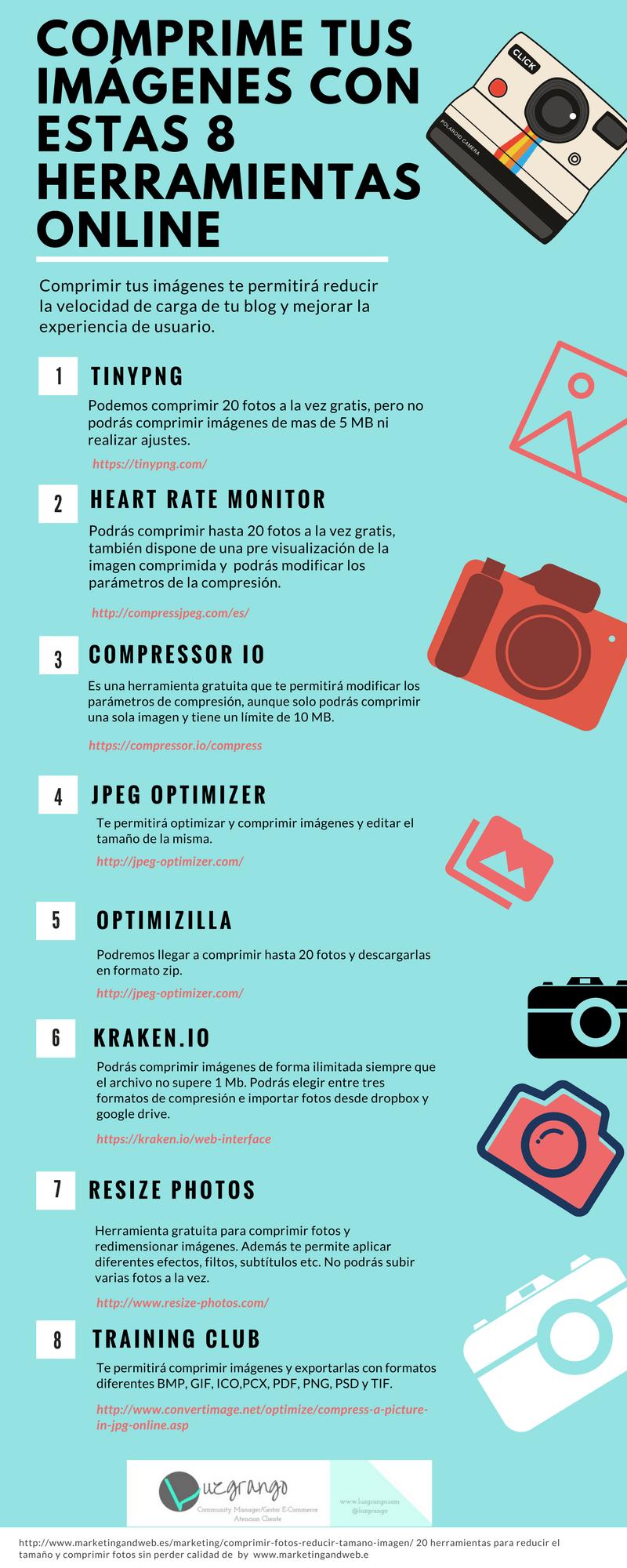 8 herramientas online para comprimir imágenes