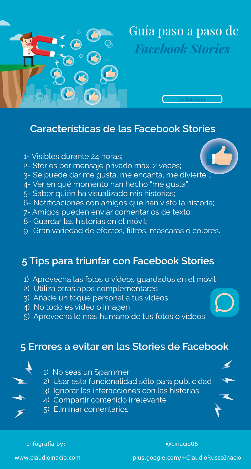 Facebook Stories: guía paso a paso