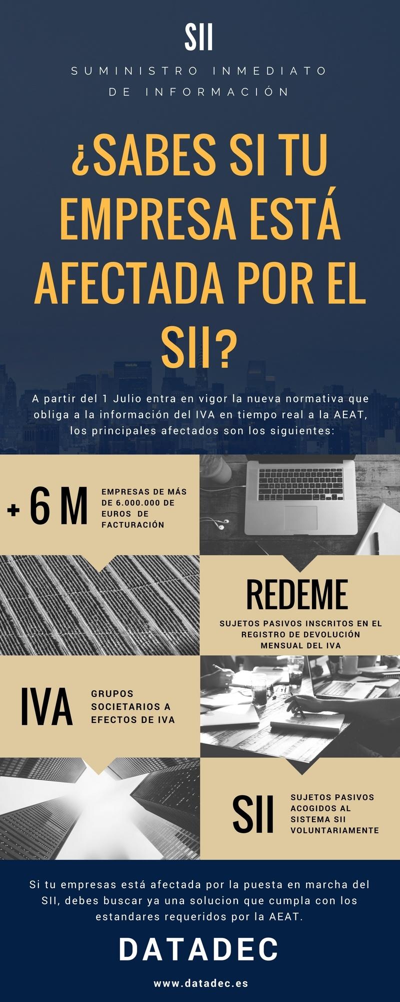 IVA: quiénes están afectados por el SII
