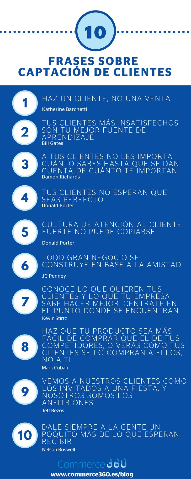 10 frases para captar clientes